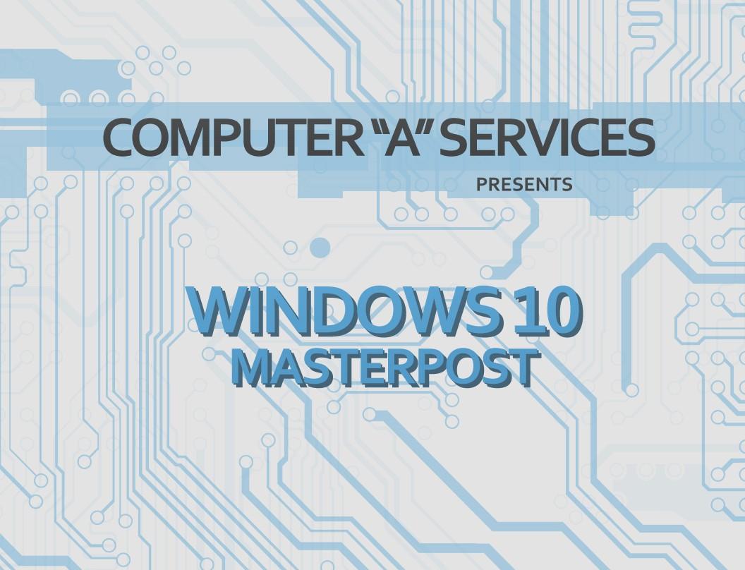 Windows 10 - Computer A Services
